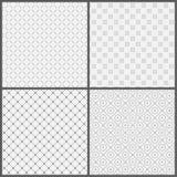 Naadloze pattern_set03 Royalty-vrije Stock Foto's