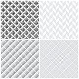 Naadloze pattern_set05 Royalty-vrije Stock Foto's