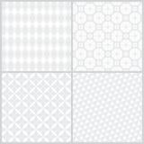 Naadloze pattern_set08 Royalty-vrije Stock Afbeeldingen