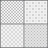 Naadloze pattern_set09 Stock Foto's
