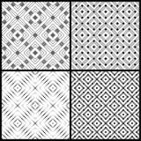 Naadloze pattern_set10 Royalty-vrije Stock Afbeelding