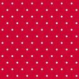 Naadloze polka-gestippelde achtergrond royalty-vrije illustratie