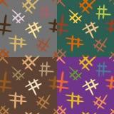 Naadloze reeks abstracte achtergronden Royalty-vrije Stock Afbeeldingen