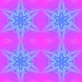 Naadloze regelmatige violette magenta blauwe purple van het sterpatroon Stock Foto's
