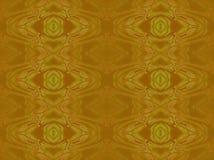 Naadloze retro bruine ornamentenoker vector illustratie