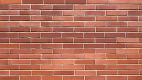 Naadloze rode bakstenen muurachtergrond Stock Fotografie