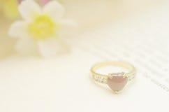 Naadloze romantische achtergrond Stock Foto's
