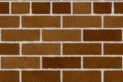 Naadloze roodbruine bakstenen muur Royalty-vrije Stock Afbeelding