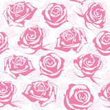 Naadloze roze bloemachtergrond Royalty-vrije Stock Foto's