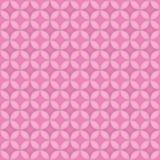 Naadloze Roze Cirkels Stock Afbeeldingen