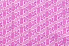 Naadloze roze de kleurenachtergrond van het bloempatroon Stock Afbeelding