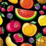 Naadloze Sappige fruittextuur 2 Royalty-vrije Stock Fotografie
