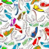 Naadloze schoenen Royalty-vrije Stock Afbeelding