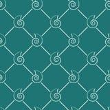 Naadloze shell textuur Royalty-vrije Stock Foto