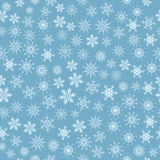 Naadloze sneeuwvlokken Royalty-vrije Stock Foto