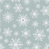 Naadloze sneeuwvlokkenachtergrond Stock Foto