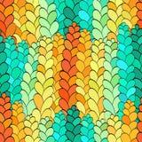 Naadloze spicarogge, met de hand gemaakt tracerypatroon, Royalty-vrije Stock Afbeelding