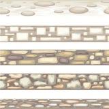 Naadloze steentextuur Stock Fotografie