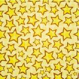 Naadloze sterren Stock Foto's