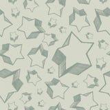 Naadloze sterren Stock Afbeeldingen