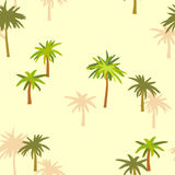 Naadloze structuur van een palm Stock Foto