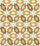 Naadloze tegel Als achtergrond met 3d geometrisch patroon Stock Foto