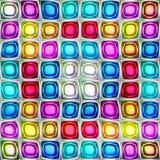 Naadloze textuur abstracte glanzende kleurrijke achtergrond stock illustratie