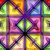 Naadloze textuur abstracte glanzende kleurrijke achtergrond royalty-vrije illustratie