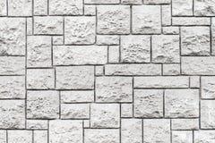 Naadloze textuur als achtergrond van grijze steenmuur Royalty-vrije Stock Foto's