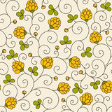 Naadloze textuur met bloemen Royalty-vrije Stock Afbeelding