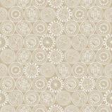 Naadloze textuur met bloemenornament Royalty-vrije Stock Afbeeldingen