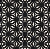 Naadloze textuur met driehoeken, ruiten, dunne lijnen, hexagonaal net Royalty-vrije Stock Afbeeldingen