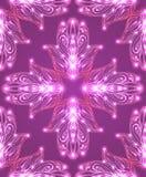 Naadloze textuur met gekleurde stammenhamsa met bohopatroon royalty-vrije illustratie