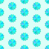 Naadloze textuur met geometrisch ornament Stock Afbeelding
