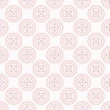 Naadloze textuur met geometrische vormen Royalty-vrije Stock Fotografie