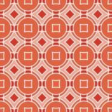 Naadloze Textuur met Ruiten en Cirkels vector illustratie