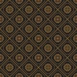 Naadloze textuur met uitstekend geometrisch ornament Stock Afbeelding