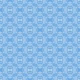 Naadloze Textuur op Azuurblauw Sier Achtergrond vector illustratie