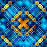 Naadloze textuur van abstracte glanzende kleurrijk royalty-vrije illustratie