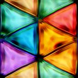 Naadloze textuur van abstracte glanzende kleurrijk stock illustratie