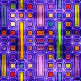 Naadloze textuur van abstracte heldere glanzende kleurrijk royalty-vrije illustratie