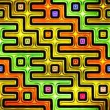 Naadloze textuur van abstracte heldere glanzende kleurrijk stock illustratie