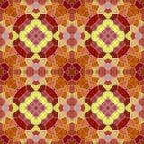 Naadloze textuur van abstracte stof Caleidoscopische behangtegels Royalty-vrije Stock Afbeelding