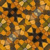 Naadloze textuur van abstracte stof Caleidoscopische behangtegels Stock Afbeelding