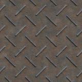 Naadloze textuur van metaal Stock Afbeeldingen