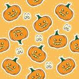 Naadloze textuur voor Halloween Stock Foto's