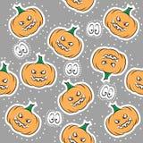 Naadloze textuur voor Halloween Stock Foto