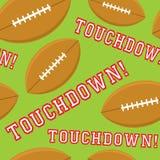 Naadloze Touchdown royalty-vrije illustratie