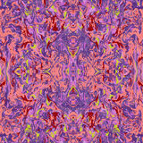 Naadloze tweezijdige patroon marmeren abstracte achtergrond Stock Fotografie