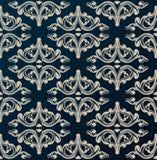 Naadloze uitstekende achtergrond Middeleeuws ornament Stock Afbeeldingen